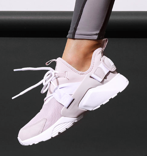 19a3c021f4d8 Nike Air Huarache City Low in Particle Rose – White